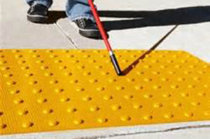 detectable warning surface mats